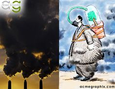 Earth provides enough to satisfy every man's needs, but not every man's greed. http://www.acmegraphix.com/ #Pollution , #AirPollution