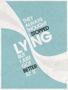 Lying by ~RenzGFX on deviantART