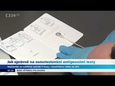 Jak správně postupovat při samotestování antigenním testem - YouTube Boarding Pass, Youtube, Youtubers, Youtube Movies