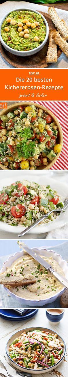 Die 20 besten Kichererbsen-Rezepte | eatsmarter.de #kichererbsen #rezepte #falafel #hummus