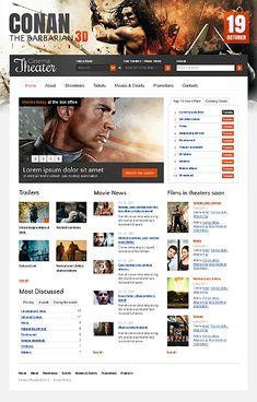 Template 36819 - Cinema Films Website Template