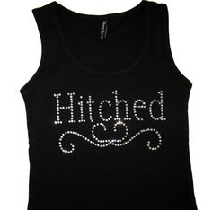 Wedding tank top Bridal Shower Gift Bachelorette Party by ArenLace, $15.00