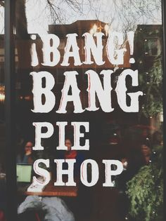 The best little pie bakery in Chicago -- Bang Bang Pie Shop! / The Baking Bird