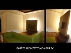 Parete architettonica per TV