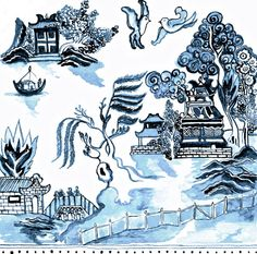 Blue Willow, I think this will be my tattoo!