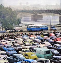 Warsaw, Old Cars, Old Photos, Nostalgia, Vehicles, World, Old Pictures, Vintage Photos, Car