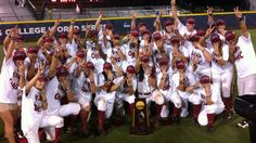 Alabama Softball 2012 National Champions!