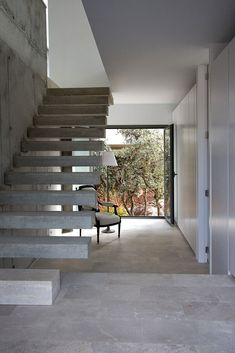 Mar de Encinas by ÁBATON - love the cantilevered stairs