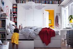 ikea bedroom design ideas 2012 4 554x377 Best IKEA Bedroom Designs for 2012