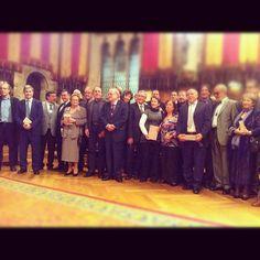 Els guardonats i guardonades amb les Medalles d'Honor de Barcelona 2012