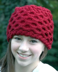 Hollyberry Hat - Knitting Patterns and Crochet Patterns from KnitPicks.com