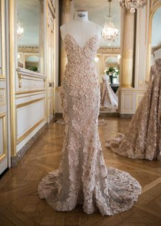 Paolo Sebastian presents his collection in Paris, Haute Couture Fall 2016 Pink Prom Dresses, Ball Gown Dresses, Dance Dresses, Evening Dresses, Dress Up, Fancy Dress, High Fashion Dresses, Casual Dresses, Formal Dresses