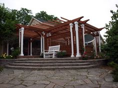 pergola & privacy | ... of pergolas gardenstructure com has been building pergolas for