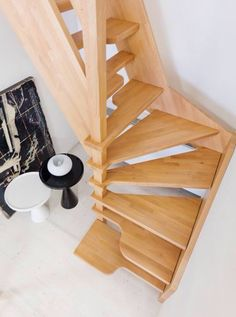 Mini staircase by novalinea #stair #tiny