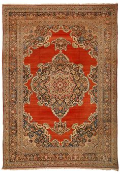 TABRIZ HAJI JALILI antique rug