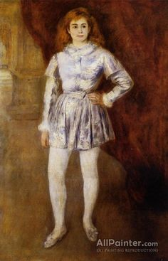 Pierre Auguste Renoir Madame Heriot 'en Travesti' oil painting reproductions for sale