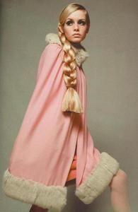 old skool Twiggy and her mega braid…