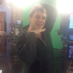 Assoc Producer Barry Bartoszek working it on GMA #behindthescenes #Arkansas #TV