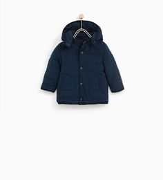 JACKET WITH HOOD AND SHEARLING-OUTERWEAR-BABY BOY | 3 months - 4 years-KIDS | ZARA Hungary