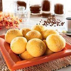 Pão de queijo com iogurte @ allrecipes.com.br