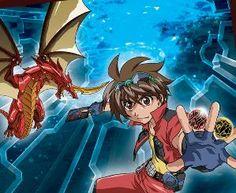Sort the tiles to get Dan Kuso from the show Bakugan.