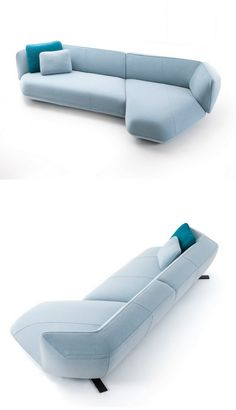 NR 30 A new sofa system, Floe Insel, part of the Cassina collection by Patricia Urquiola Furniture Styles, Sofa Furniture, Modern Furniture, Furniture Design, Sofa Seats, Sofa Chair, Sofa Bed, Ottoman Sofa, Chair Cushions