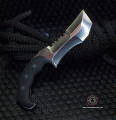 knives - tactical - custom - 3V steel Relentless Knives Custom build