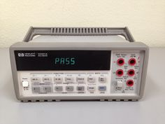 Multimetrul Keysight 34401A de la Agilent poate fi vizualizat si achizitionat de pe site-ul Ronexprim. Control