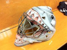 Thomas Greiss Mask #4 (worn in warm-ups)