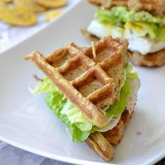 Flourless Waffle Sandwiches