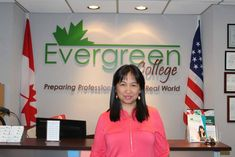 "Ofelia Batle about the Medical Office Administrator Diploma, ""I'm so happy. If I'm successful, then Evergreen is a big part of my success, and the success of my fellow students. The college is something that really changed my life.""  To learn more about the Medical Office Administrator Diploma Program, call us at (416) 365-0505  #studyabroad #careercollege #collegedecisions #career #success #collegelife #DreamBig #evergreencollege"