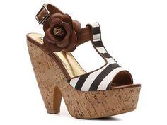 Beautiful Shoes! ---Not Rated Treky Sandal Wedges Sandal Shop Women's Shoes - DSW