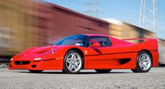 This 1995 Ferrari F50 has an estimated price of $2,500,000 to $2,900,000