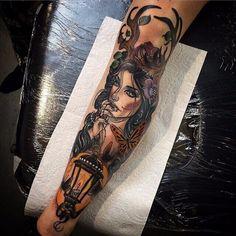 Kat Abdy - London Neo Traditional Tattoo Artist