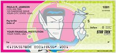 Star Trek Cheques