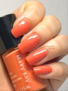 Mary Kay Nail Polish in Careless Coral  Hello, Sunshine Collection