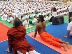 World Yoga day in Bangalore yoga centers