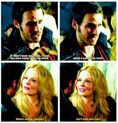Once Upon a  Time - Emma and Hook from the past