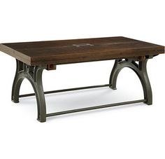 Thomassville furniture Reinventions - Boulton and Watt Flip Top Cocktail Table