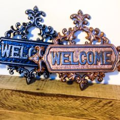 Welcome Signs back in stock!