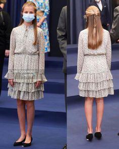 Princes Sofia, Princess Of Spain, Dress Skirt, Dress Up, Cute Twins, Spanish Royal Family, Queen Letizia, Queen Elizabeth, Kids Wear