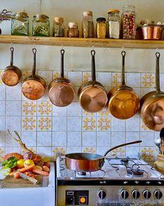 Copper Pots & Pans