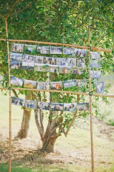 hang picutres somewhere?  Style Me Pretty | Gallery