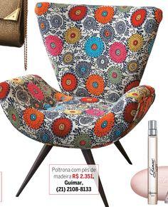 Poltrona / cadeira florida