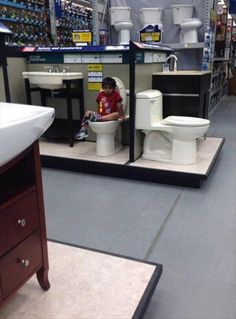 Lowes Lets Clean Toilets Together FAIL ---- funny pictures hilarious jokes meme humor walmart fails