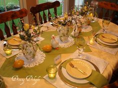 spring tablescapes - Google Search