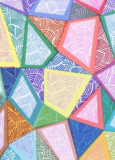 Sarah Bagshaw #patterns #deco
