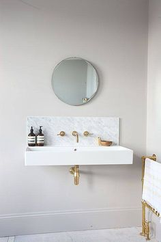 marble and brass ultimate inspo: 51 spaces that got it right on domino.com