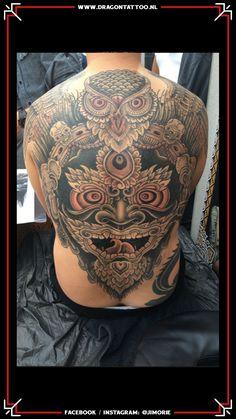 BIG WORK. Dotwork inspired backpiece.  Tattooed by: Jim Orie Dragon Tattoo Becoming A Tattoo Artist, Tattoo Portfolio, Unique Tattoos, Tribal Tattoos, Tattoo Artists, Dragon, Inspired, Big, Inspiration