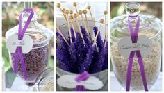 purple candy buffet wedding-stuff-for-lindsey